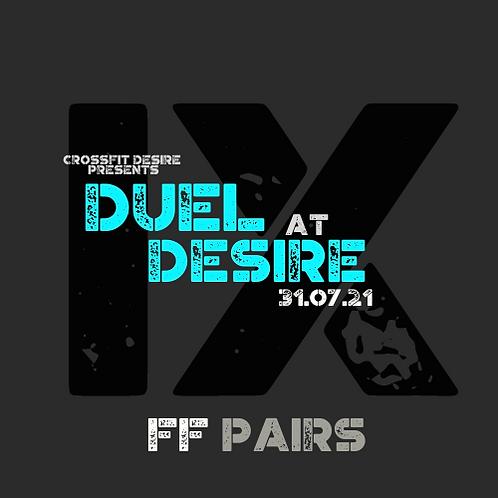 Female Female Pairs- Duel at Desire
