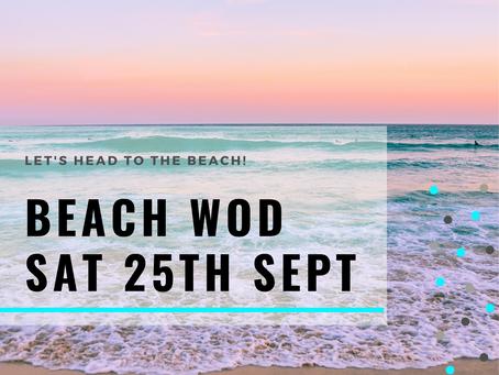 WOD Monday 20th September