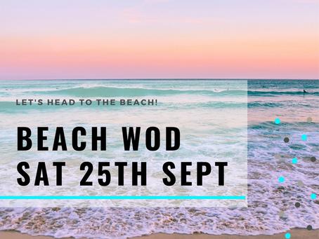 WOD Friday 24th September