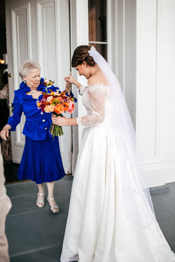 Grandmother's first look