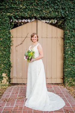 Blushing bride, Carla