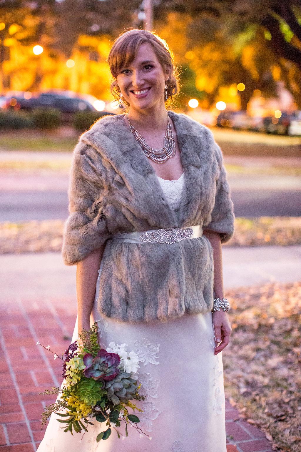 Vintage fur bolero