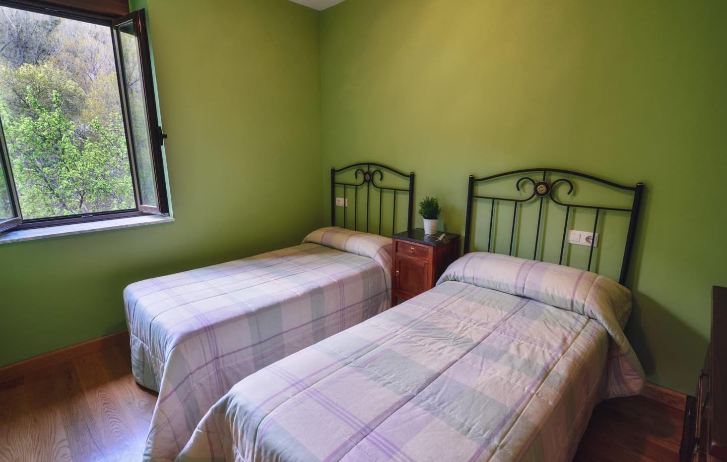 Dormitorio doble. Casa de 6 plazas.