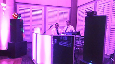Our Dj & photo booth.