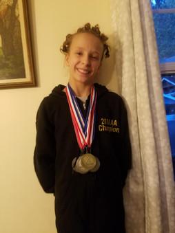 Sophie, Level 5 Washington State Champion