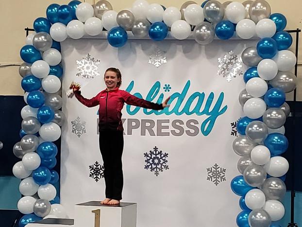 Serafina judge's award for beam Holiday Express 2018