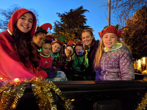 Christmas Parade, Mt Vernon WA