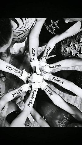 Team girls personal goals