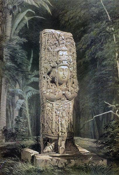 Catherwood's Idol at Copan.jpg