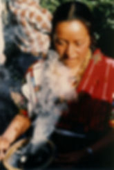 Chichi woman with.JPG