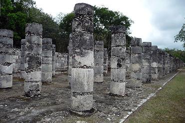 Chichen Itza columns, round.JPG
