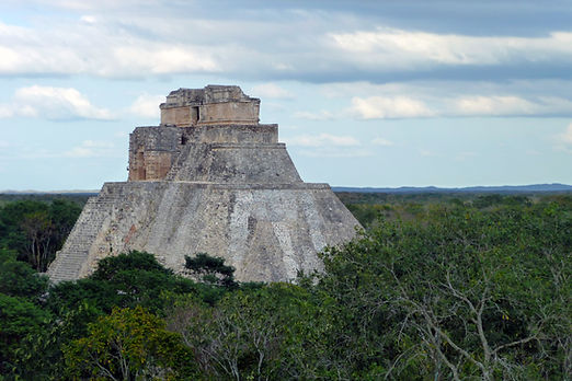 DONE Uxmal, Pyramid of the Magician.JPG