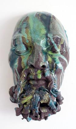 Neptun_Keramik_glasiert_Höhe_35cm