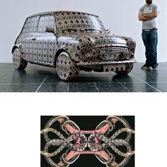 Silver Bullet Mini Cooper mit Ornamentdetail.jpg