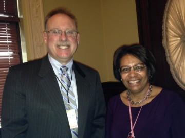 Curt Spaulding and Thelma Murphy of EPA Region 1
