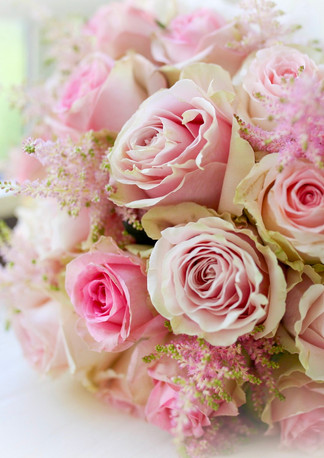 The Dorchester Hotel Luxury Wedding Flowers. Wedding Florist London. Blush Pink Bridal Bouquets