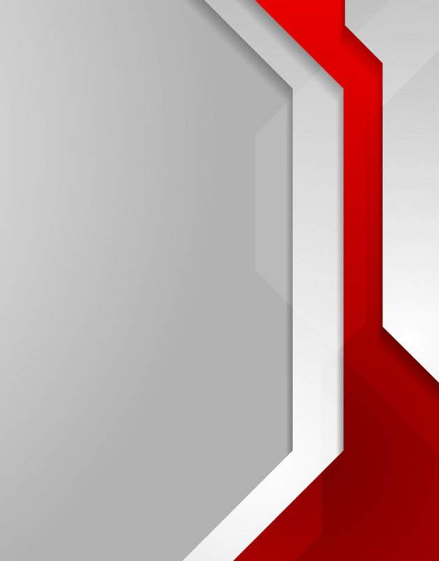 red-and-grey-tech-geometric-flyer-backgr