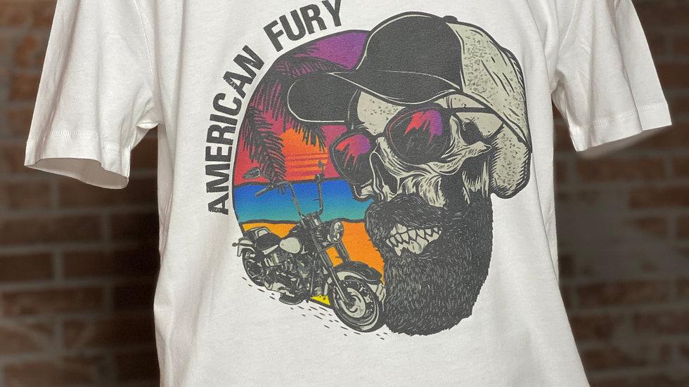 T-shirt american biker