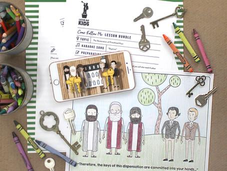 The Restoration of Priesthood Keys: Sep. 27th- Oct. 3rd