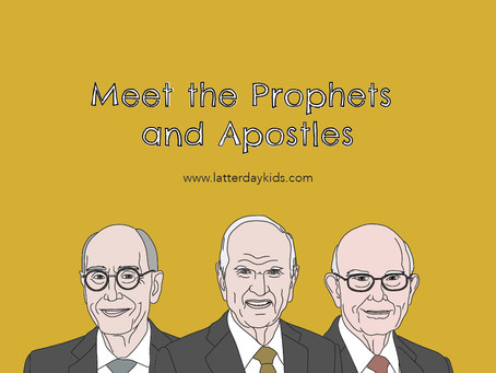 Meet the Prophets and Apostles Game + Printable!
