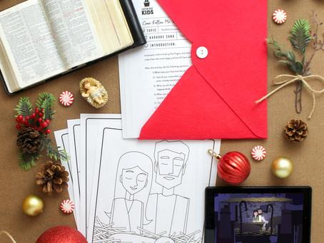 Christ's Birth Lesson- Dec. 21st-27th