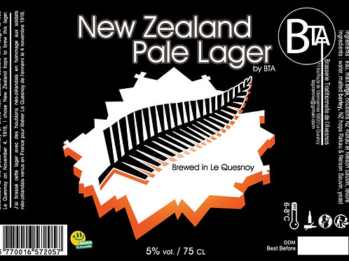 New Zealand Pale Lager 75 CL