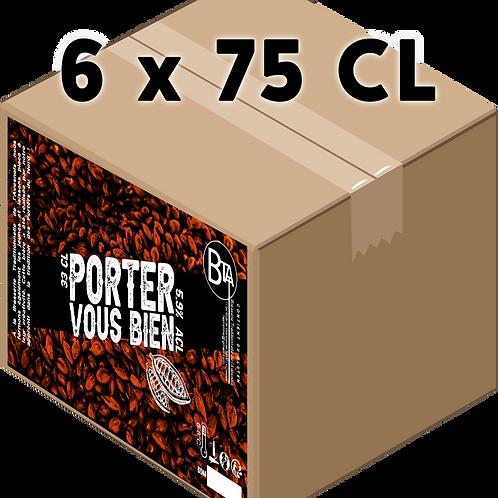 Carton - Porter Vous Bien 75 CL x 6