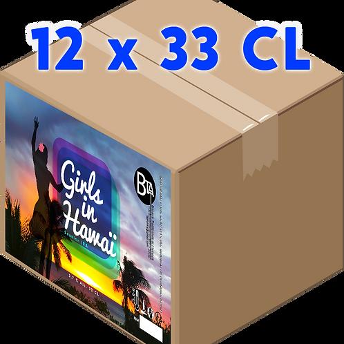 Carton - Girls in Hawaï 33 CL x 12