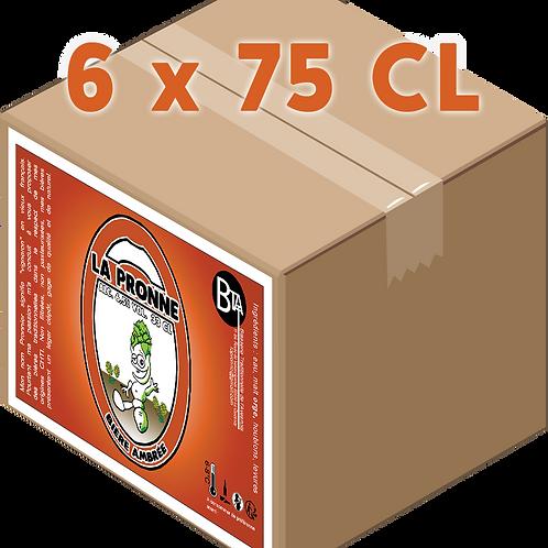 Carton - Pronne Ambrée 75 CL x 6