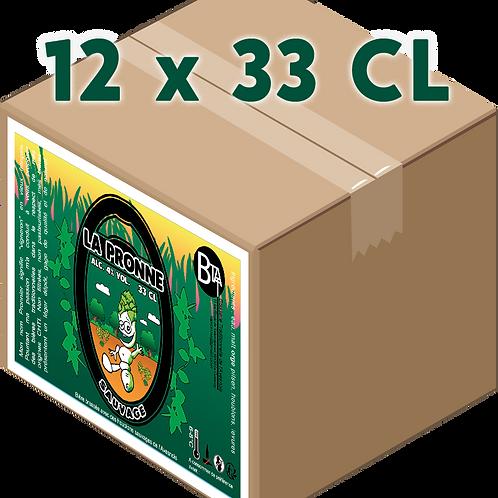Carton - Pronne Sauvage 33 CL x 12
