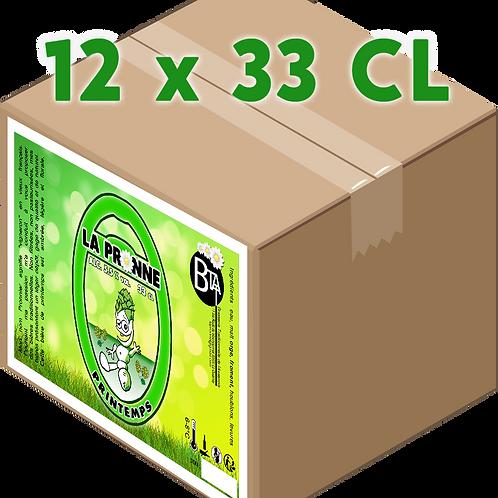 Carton - Pronne Printemps 33 CL x 12