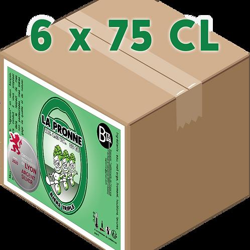 Carton - Pronne Triple 75 CL x 6