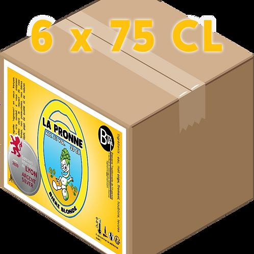 Carton - Pronne Blonde 75 CL x 6