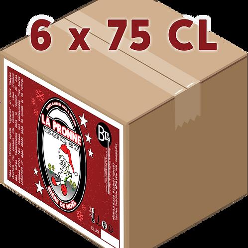 Carton - Pronne Noël 75 CL x 6