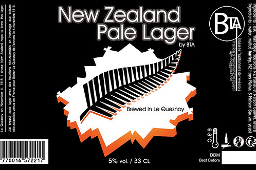 New Zealand Pale Lager 33 CL