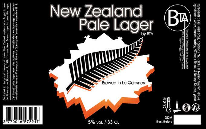 La New Zealand Pale Lager