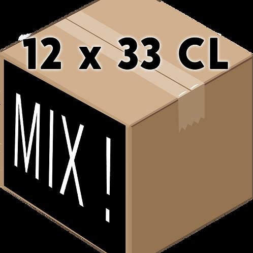 Coffret 33 CL x12 Différentes