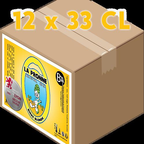 Carton - Pronne Blonde 33 CL x 12