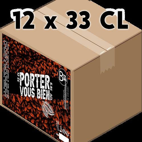 Carton - Porter Vous Bien 33 CL x 12