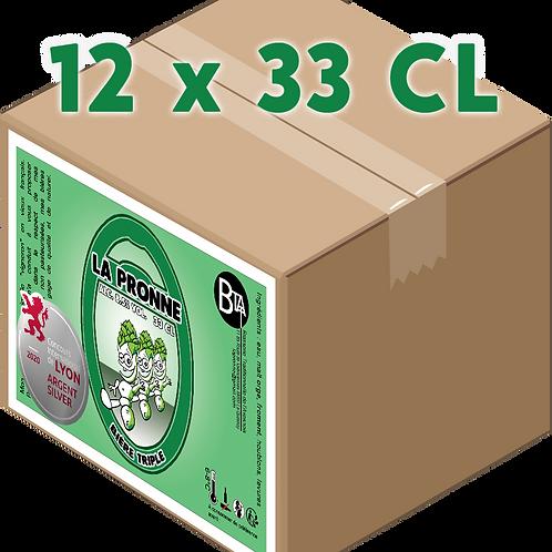 Carton - Pronne Triple 33 CL x 12
