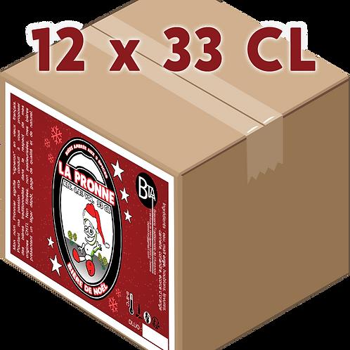 Carton - Pronne Noël 33 CL x 12