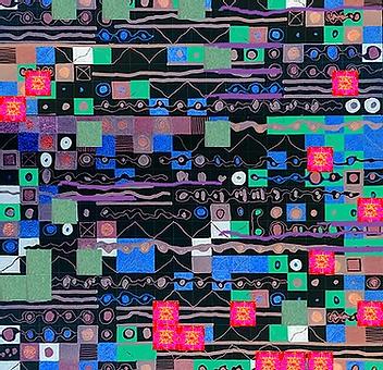 Negin Ehtesabian Visual Music, neginete art, cartography artists, winona minnesota art, abstract art, techspressionism, techspressionist, iranian female artist, middle east women, beautiful pixel art, best iran artists