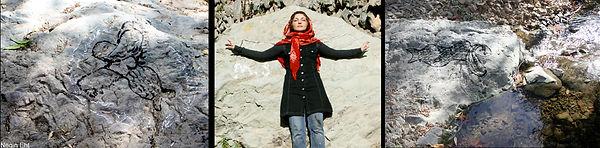 Negin Ehtesabian, neginete, art for peace, performance art, mohammad hasan ezzatzadeh, irus art, the us and iran, pray for peace, scheherzade, shahrzaad, morehshin, dialouge, allahyari, darakeh