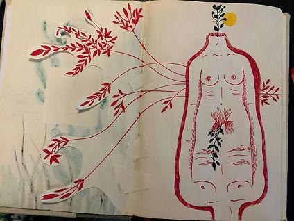 Negin Ehtesabian Neginete journal art (4