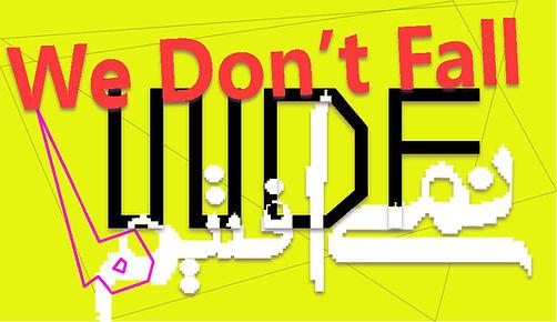 WDF Logo.jpg, we don't fall digital art show, negin ehtesabian, patrick lichty, art gallery, middle east, contemporary art show, emerging digital artists from iran, iranian artists