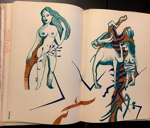 Negin Ehtesabian Neginete journal art (8