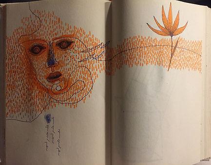 Negin Ehtesabian Neginete journal art (9