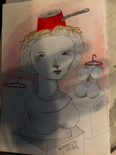 Negin Ehtesabian Neginete journal art (1