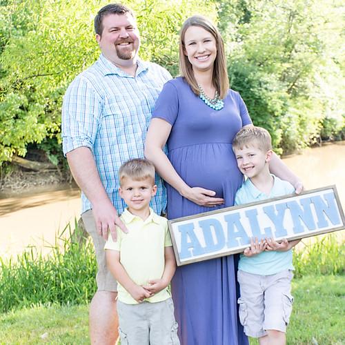 Hannah and Eric - Maternity