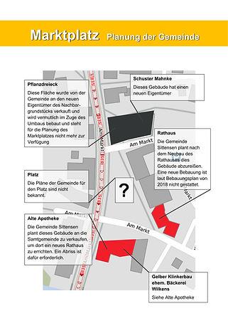 Beschreibung Marktplatz Planung Gemeinde